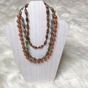 Beaded Multicolored Necklaces Necklace